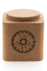 Sal Marin Sea Salt in a cork box- Marvalhas
