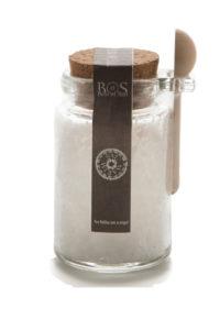 Sal Marin Sea Salt in a glass Jar- Marvalhas