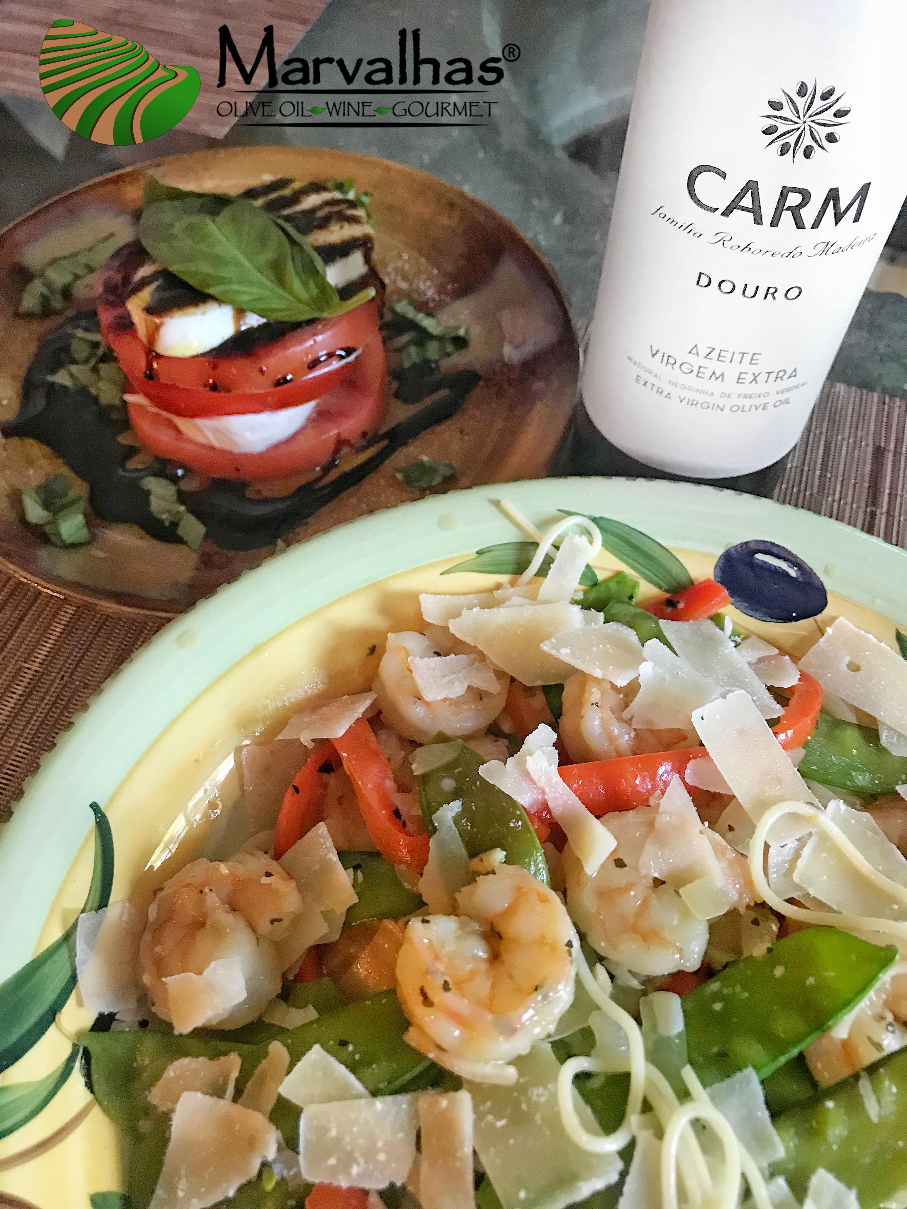 Easy Shrimp in White Wine Sauce