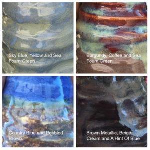 Artisan Olive Oil Carafe Colors