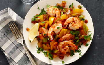Weight Watchers Cajun Shrimp Sauté