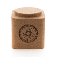Sal Marin Sea Salt in a cork box- Marvalhas