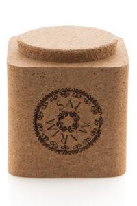 Mediterranean Sea Salt In A Cork Box