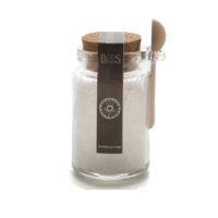 Sal Marin Sea Salt in a glass Jar- Marvalhas