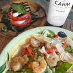 Easy Shrimp in White Wine Sauce