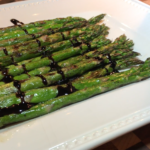Mia Bella Balsamic Vinegar over Grilled Asparagus