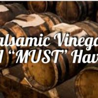 Balsamic Vinegar- A Must Have by Marvalhas