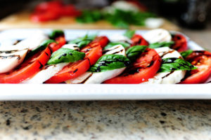 Caprese Salad with Mia Bella Balsamic Vinegar
